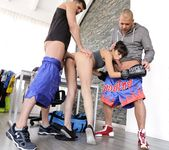 Mona Kim - Boxing With The Best - 21Sextury 5