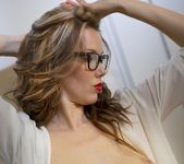 Nicky's secretarial striptease - Spinchix 11