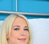 Arteya - blonde teen showing off her natural breasts 20