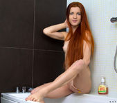Katya Blue - teen taking a shower 7