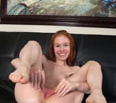 Dolly Little spreading her pussy wide 16