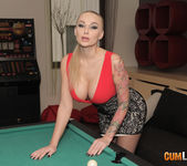 Kayla Green - Russian hooker breaks the snooker 3