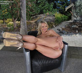 Jemma Valentine - spreading and dildoing her pussy 10