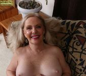 Judy Belkins - older woman showing her pussy 14