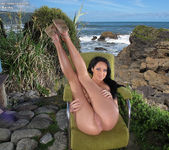 Sabrina Banks - dildoing on the beach 10