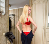 Vicki - petite thin blonde 8