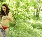Lily strips in the brush 12