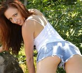 Lily teases in her short shorts 4