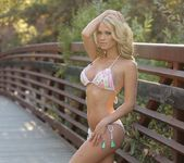 Shannyn looks good on the topless bridge 11