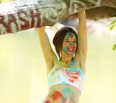 Hayden teases as she is all painted up 11