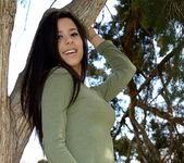 Bella teases and poses in the tree 3
