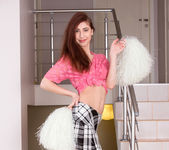 Vivien - nasty cheerleader getting naked 3