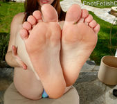 Anya Olsen Drives Boyfriend Wild With Her Feet 2