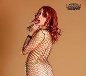 in Fishnet Bodysuit - Ariel - Art Nude Tattoos 4