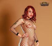 in Fishnet Bodysuit - Ariel - Art Nude Tattoos 5