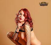 in Fishnet Bodysuit - Ariel - Art Nude Tattoos 15