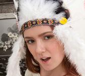Foxy - amerindian pussy spread 12