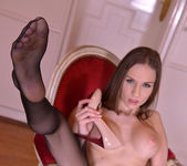 The Breathtaker - Brunette Austrian Foot Lover Licks Shoes 9