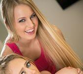 Kagney Linn Karter, Scarlett Sage - Massage My Wife 4