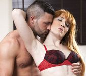 Fiery Teen Red Head Sabrina Jay Loves Doggie Style - Private 5