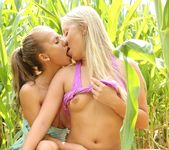 Fucking in The Woods With Lesbians Bella Baby & Cayla Lyons 11