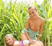 Fucking in The Woods With Lesbians Bella Baby & Cayla Lyons 12