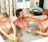 Kagney Linn Karter, Britney Amber - Family Nuru 5