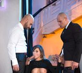 Perky Tit Anna Polina Gets Some Rough DP - Private 2