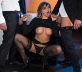 Perky Tit Anna Polina Gets Some Rough DP - Private 3