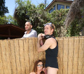 Ariella Ferrera - Backyard Banging - MILF Hunter 9