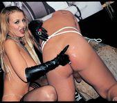 Latex Queen Claudia Claire Gets Cum Covered 11