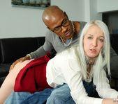 SchoolGirl Liz Rainbow Gets Some Interracial Pounding 3