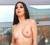 Sexy Brunette Julia de Lucia Gets a Mouth Full of Cum 3