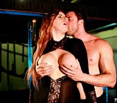 Busty Red Head Yuffie Yulan Gets a Good Dogging - Private 4