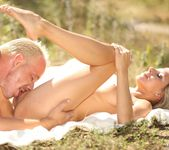 Tracy Smile & Her Man Go For a Picnic and Passionately Fuck 3