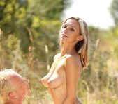 Tracy Smile & Her Man Go For a Picnic and Passionately Fuck 7