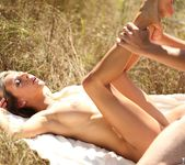 Tracy Smile & Her Man Go For a Picnic and Passionately Fuck 11