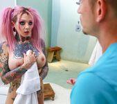 Big Tit Tattooed Stepsister Sydnee Vicious - Burning Angel 2