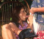 Betty Enjoys a Groupsex Session at her Garden 2