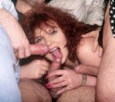Redhead Bitch Jeanette Dries Two Guys - Private Classics 4