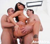 Asa Akira hot MMF threesome 9