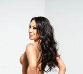 Watch as Asa Akira plays with her amazing tits 12