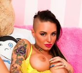 Busty Christy Mack dresses up for Halloween 7