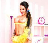 Busty Christy Mack dresses up for Halloween 10