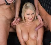 Joyce Has a Casting and a Threesome Fuck Session 10