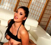 London Keyes works her wet Asian pussy 9