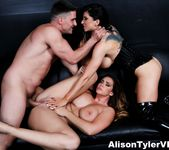 3-way gonzo energetic sex with Alison Tyler & Romi Rain 11