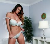 Busty Alison Tyler posing totally nude 4