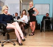 Busty Blonde Milf Chessie Kay Gets Nailed in the Office 2