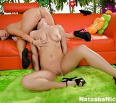 Watch Natasha Nice do her first anal with the help of Asa 4